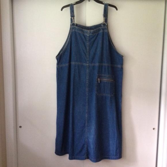 fe0784cf6b432 GBD Gabrielle Dresses   Skirts - GBD Gabrielle Denim Overall Dress Plus Size